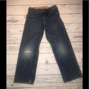 Boy's sz 8 Gap loose fit jeans